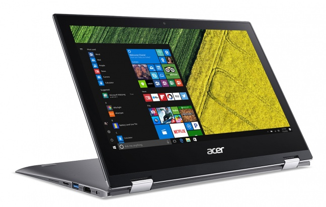 Acer Spin 1, notebook convertibile
