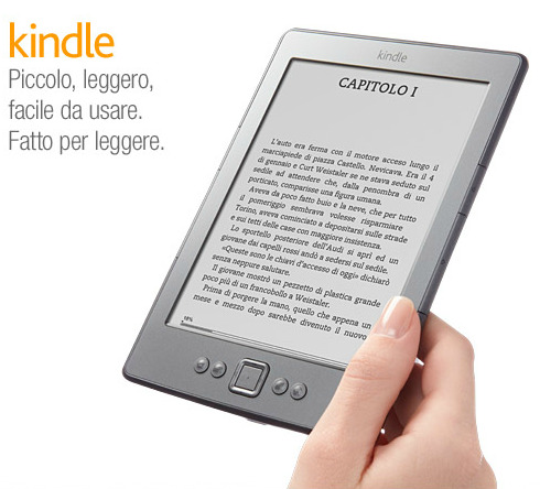 Amazon Kindle in Italia