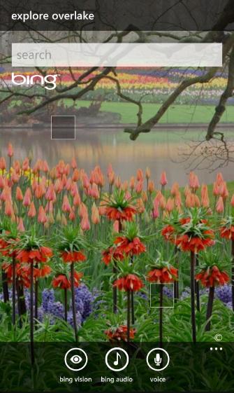 Anteprima di Windows Phone 7.5 - HomeScreen