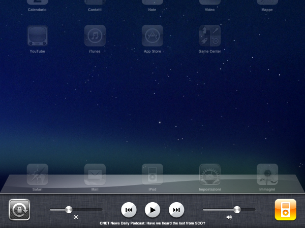 Multitasking iPad