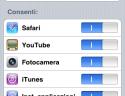 Opzioni di restrizione IPhone