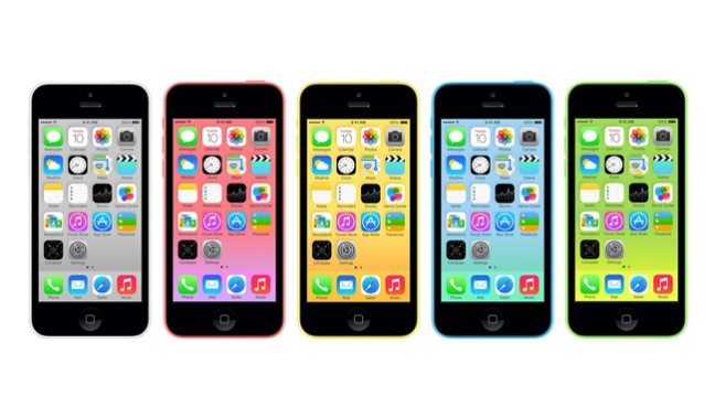 Apple iphone 5c le foto webnews for Housse iphone 5 c