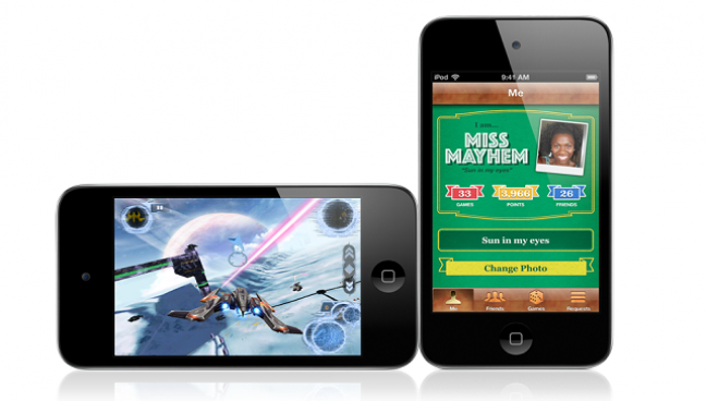 iPod Touch messaggi