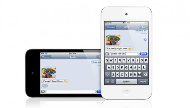 iPod Touch videochat
