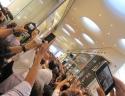Apertura Apple Store Carosello - Sale l'attesa