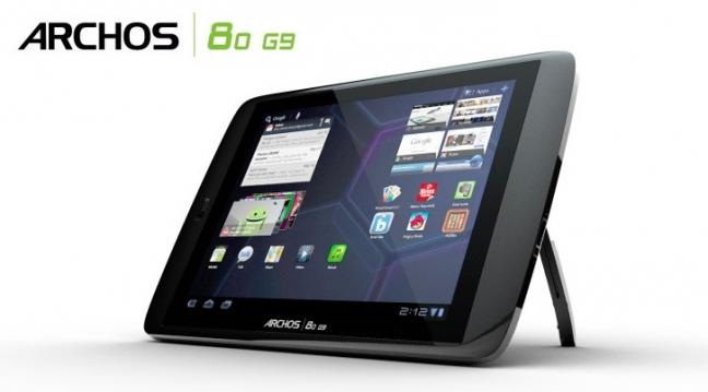 Archos 80 G9 e 101 G9 tablet