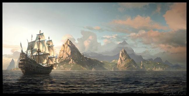 Assassin's Creed 4: Black Flag artwork
