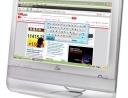 Eee Top con tastiera virtuale su schermo