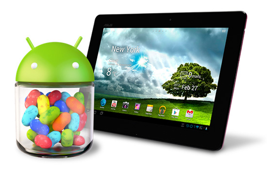 Asus Memo Pad Smart 10 con Android 4.1 Jelly Bean