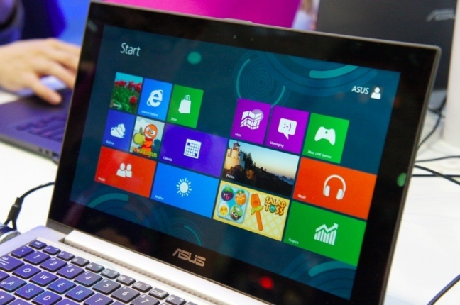 ASUS Zenbook Prime UX21A touchscreen