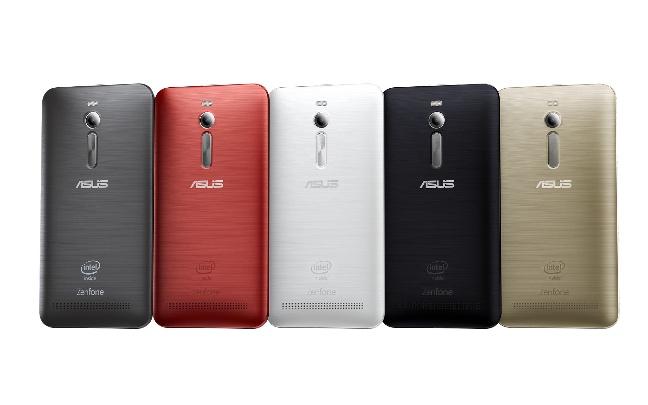 ASUS ZenFone 2, i colori disponibili