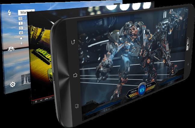 ASUS ZenFone 2, display da 5,5 pollici Full HD