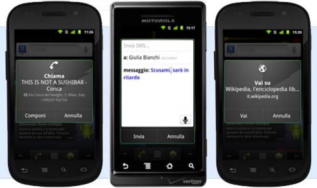 Azioni Vocali per Android
