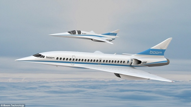 Baby Boom (XB-1 Supersonic Demonstrator)