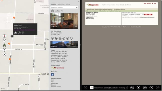 Bing Maps Preview per Windows 8.1
