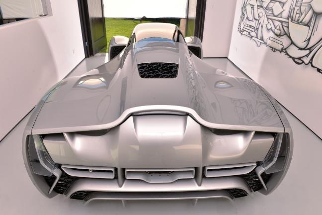Blade, la supercar realizzata con le stampanti 3D