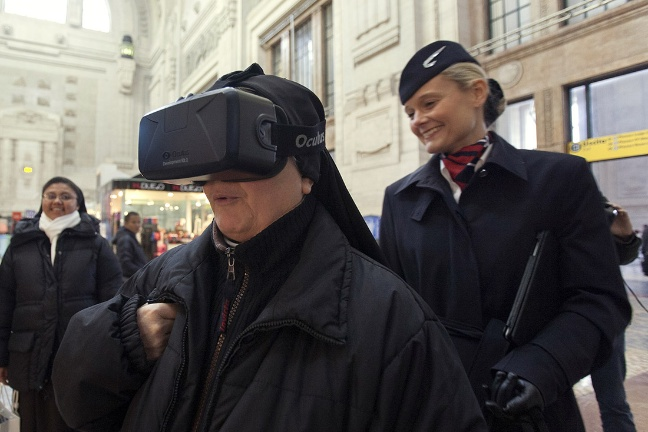 British Airways e la realtà virtuale di Oculus Rift