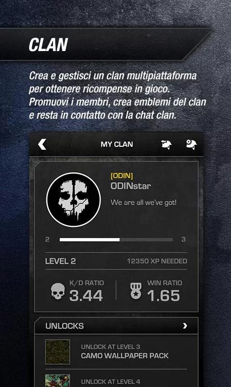 Call of Duty: Ghosts, app companion