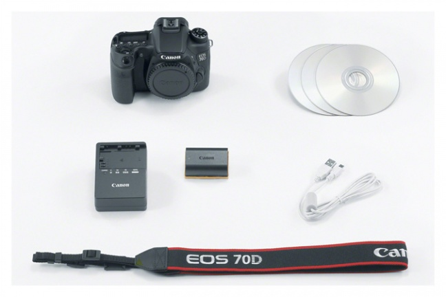 Il kit della Canon EOS 70D