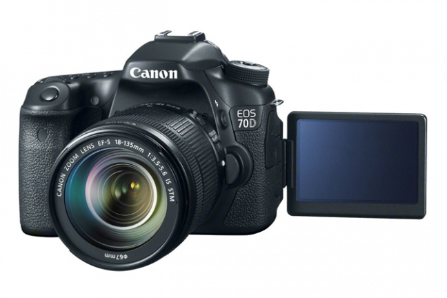 Canon EOS 70D con display touch