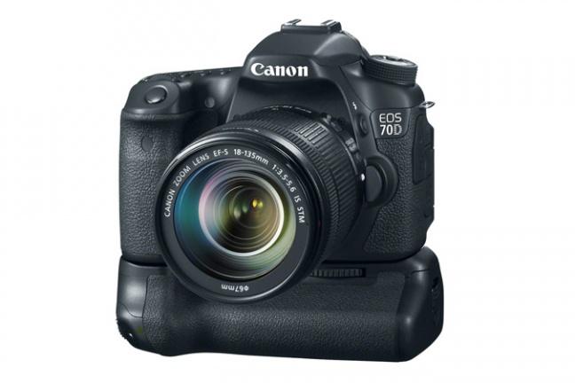 Canon EOS 70D con battery grip