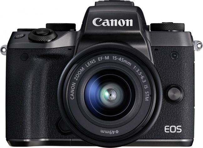 Canon EOS M5, fotocamera mirrorless