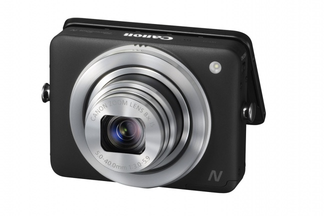 Canon PowerShot N LCD aperto