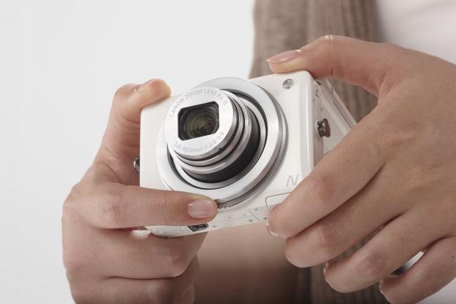 Canon PowerShot N, ergonomica