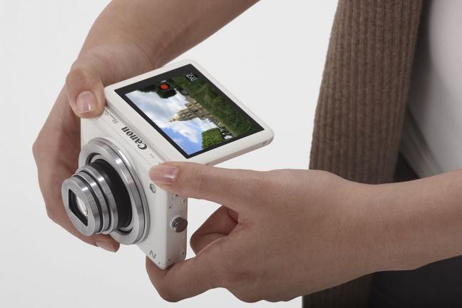 Canon PowerShot N in uso