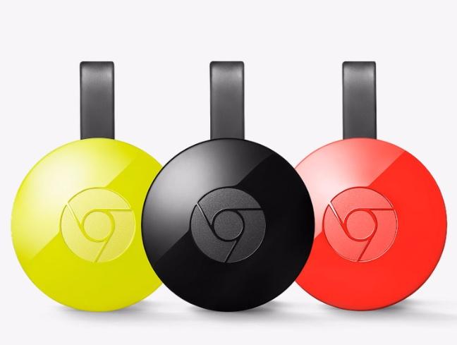 Il Chromecast di seconda generazione