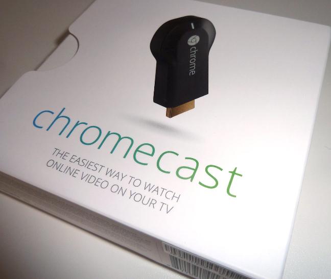 Google Chromecast, la confezione