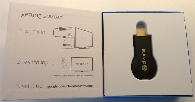 Google Chromecast, il dispositivo