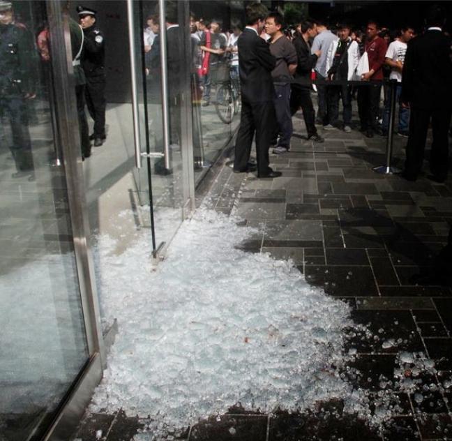 Cina: disordini all'Apple Store di Pechino (9to5Mac)
