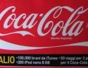 Etichetta presente sulla bottiglia di Coca Cola