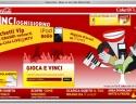 ScreenShot del sito Web del concorso