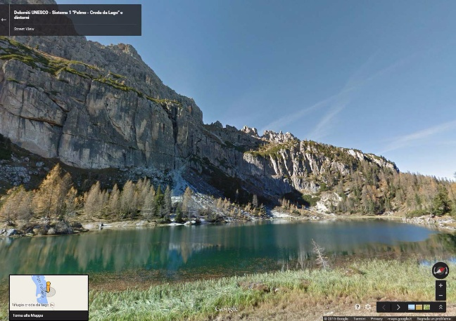 Dolomiti su Street View