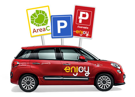 enjoy, il car sharing di Eni a Milano