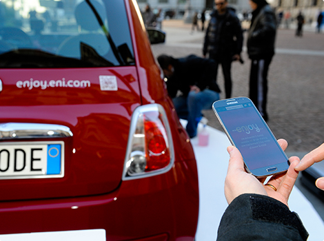 enjoy, il car sharing di Eni a Milano