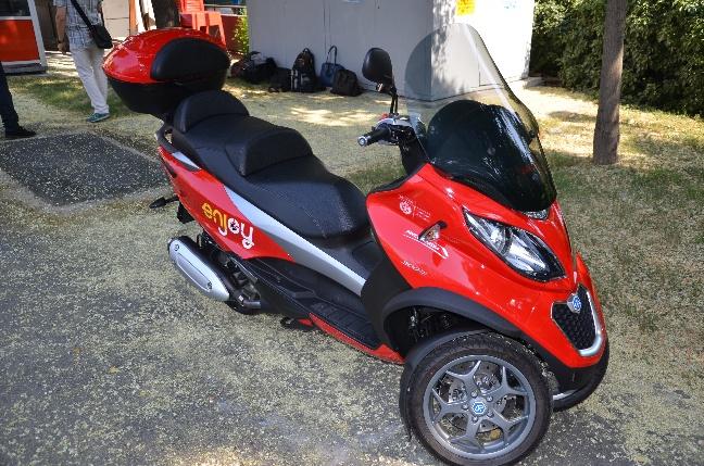 Enjoy scooter sharing
