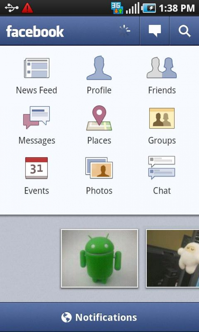 Facebook 1.6.0 per Android