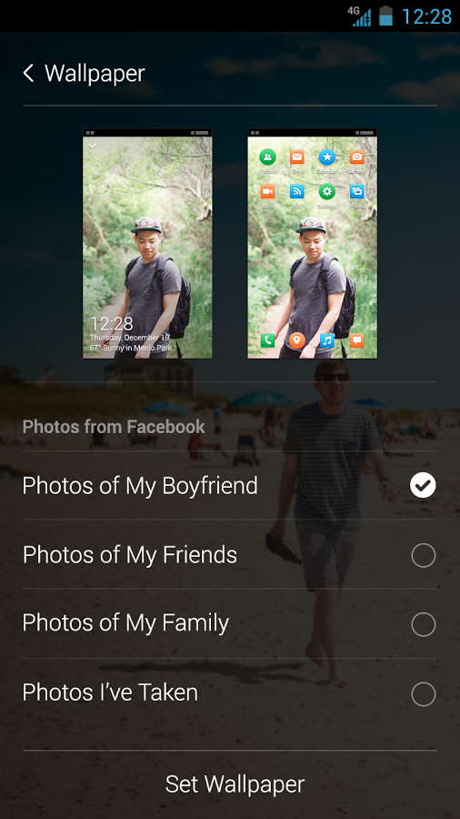 Facebook Home 1.1