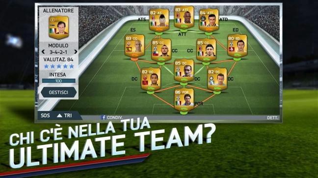 FIFA 14 per Android e iOS