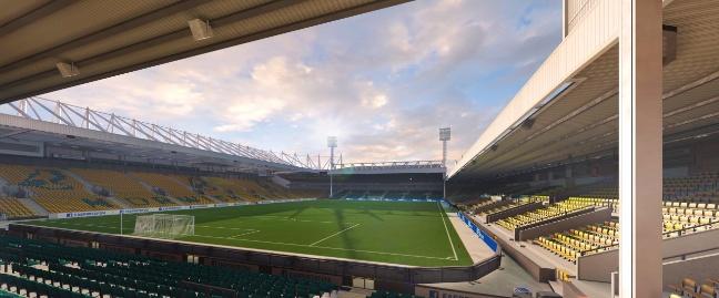 FIFA 16: lo stadio Carrow Road