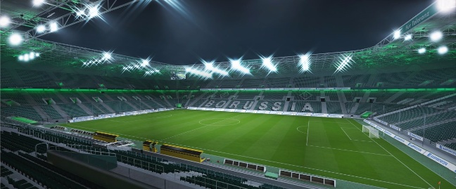 FIFA 16: lo stadio Borussia Park