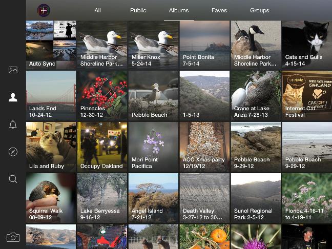 Flickr per iPad