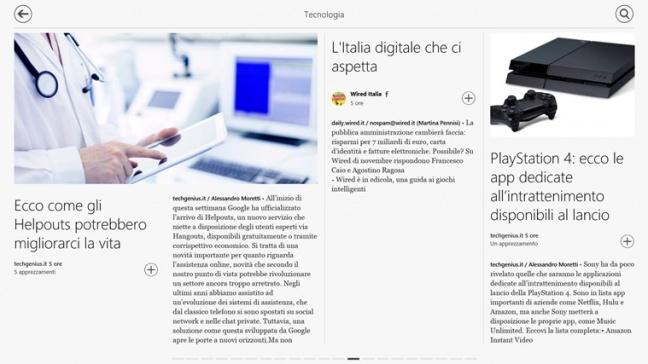 Flipboard per Windows 8.1