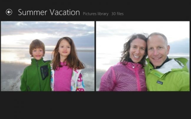 Foto app in Windows 8