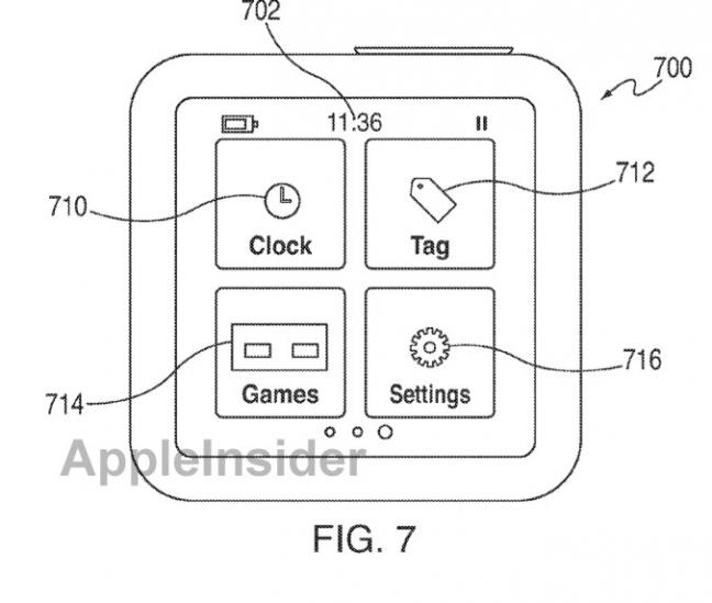 Galleria brevetto iPod nano