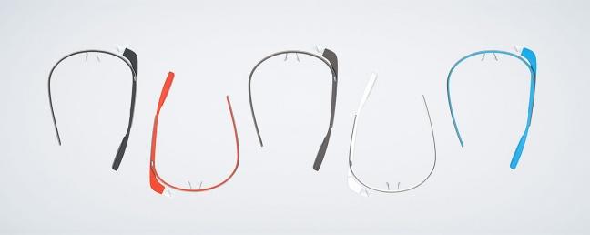 Google Glass, tutti i colori