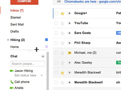 Gmail nuovo look